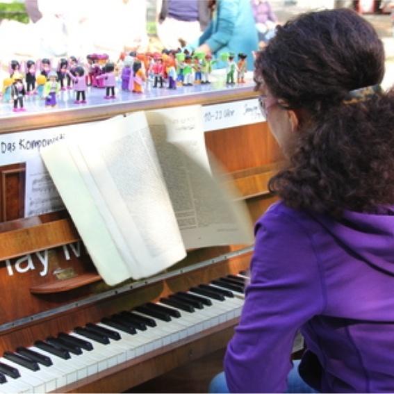 Komponistinnen Klavier