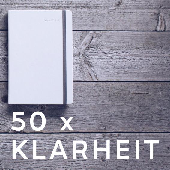 50 Exemplare KLARHEIT