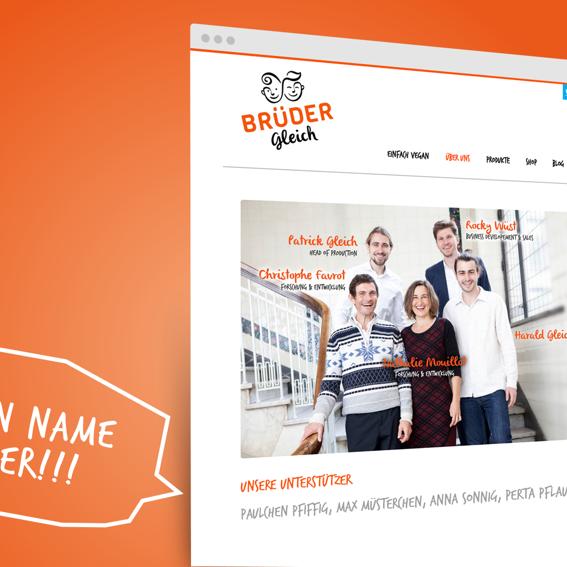Du auf unserer Webseite