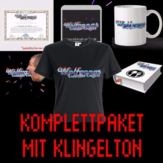 KOMPLETT-PAKET MIT KLINGELTON