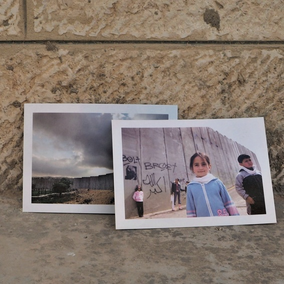 Postkarte aus Bethlehem