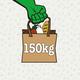 150kg Lebensmittel retten
