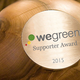 *Mega* Support: Der exklusive WeGreen Supporter Award