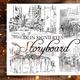 Signiertes Storyboard