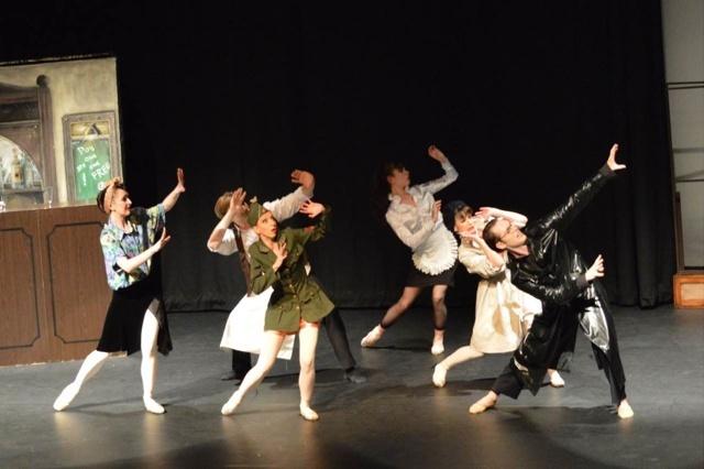 Tanzkompanie bringt Tanz zu den Menschen