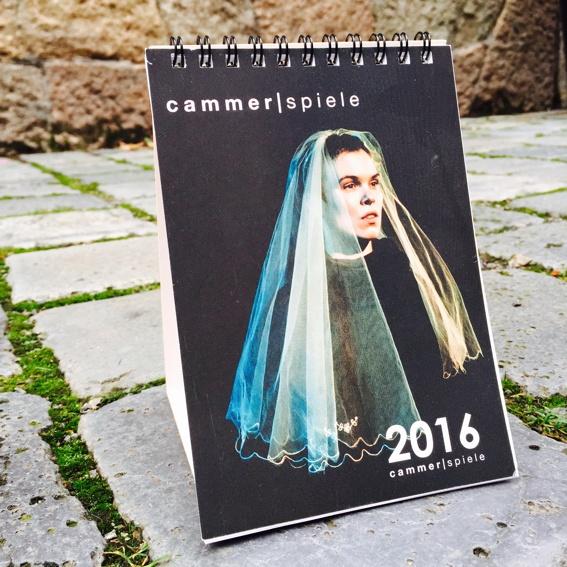 Cammerspiele Kalender 2017 + Post von uns