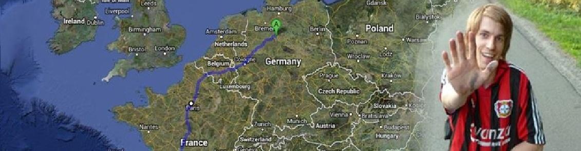 Ein Mann, eine Straße, ein Ziel - Mit dem Rollstuhl durch Europa