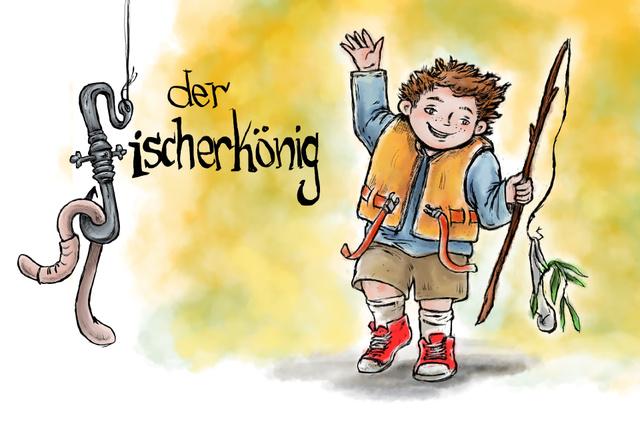 Kinderbuchprojekt Arved – Der Fischerkönig