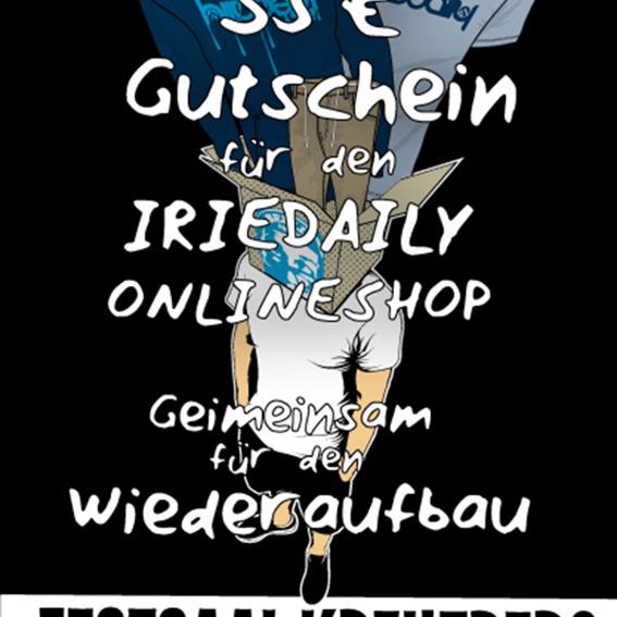 Iriedaily Online-Shop 35€ Gutschein!!!