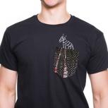 """Kipepeo Männer Shirt Taschentierchen """"Zebra"""""""