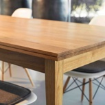 REKORD Tisch - Eiche - 140 cm - schnell 15%