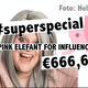 A PINK ELEFANT for INFLUENCA