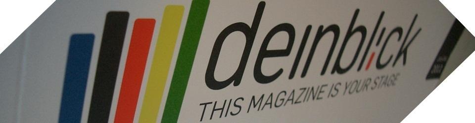 Internationales Print-Magazin deinblick