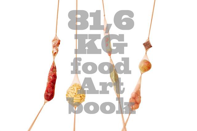 81,6 KG - food Art book