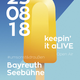 """Poster """"keepin' it aLIVE 2018"""""""