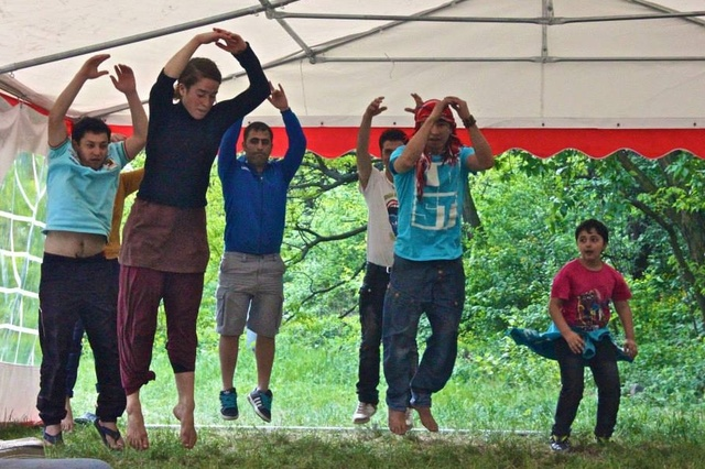 IMPULSE - ein soziokulturelles Projekt mit Flüchtlingen in Berlin-Spandau