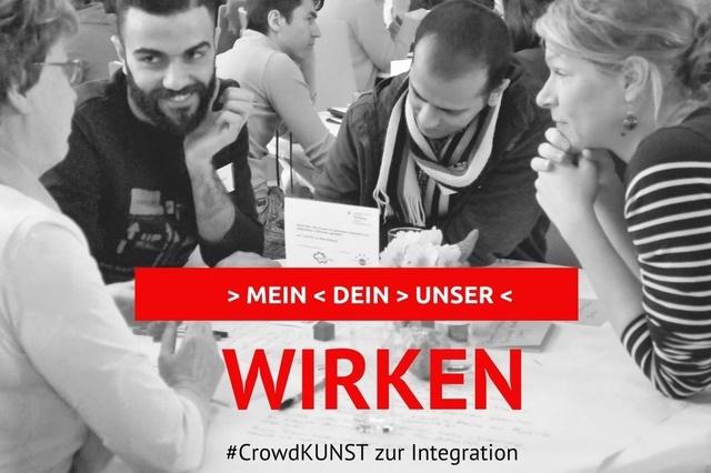 CrowdKUNST zur Integration - KETURI