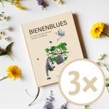 3x Bienenblues zum Selberlesen und Verschenken