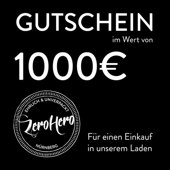 Gutschein im Wert von 1000€