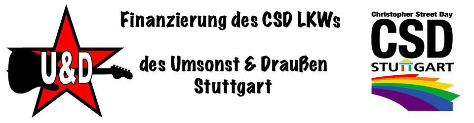 Finanzierung des CSD Trucks des U&D Stuttgart
