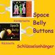 Space Belly Buttons Schlüsselanhänger