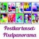 "Postkartenset ""Pixelpanorama"""