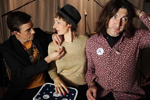 Debutalbum von Kat & The Major Pins