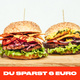 3 x Burger COMBO
