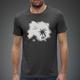 KopfNuss T-Shirt Männer + Stickerset