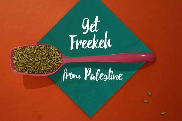 Get Freekeh! The power-grain from Palestine