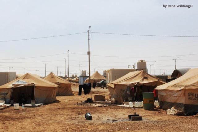 morethanshelters project in refugee camp in Jordan