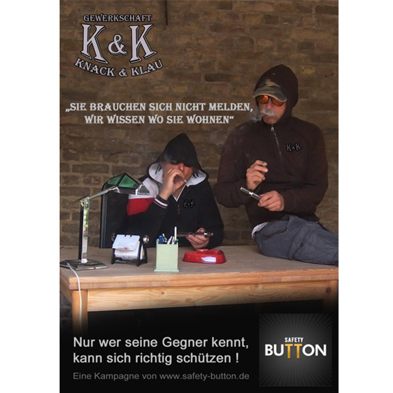 "Poster ""Knack & Klau"""