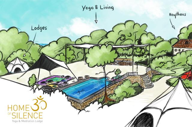 HOME OF SILENCE Yoga & Meditation Lodges