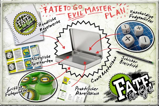 FateToGo - Steel Case Edition