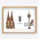 Braukunst - Dom + Rheinturm