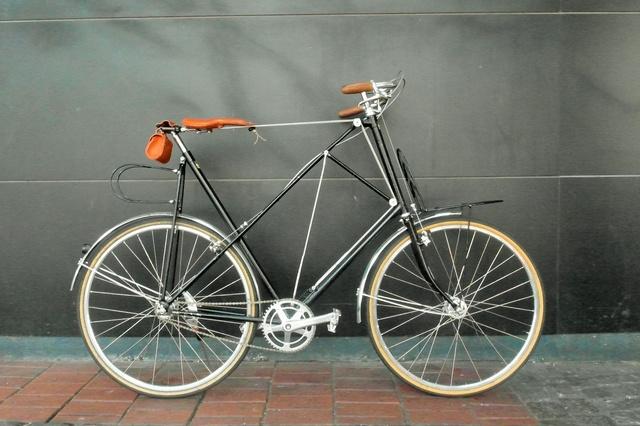 velopedart - Fahrrad mit Seilsattelkonstruktion