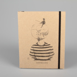 """Fishing for ideas"" (black/carton) – Swiss Brochure"
