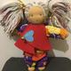 Handgemachte Monique-Puppe (groß)