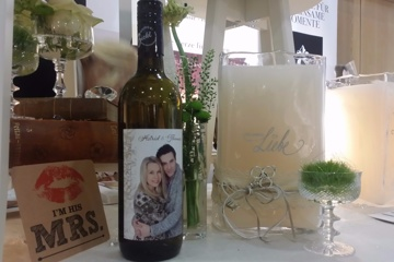 Hochzeitswein - Dein persönliches Etikett