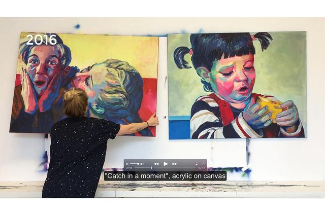 Lili Ploskova - MY ART BOOK
