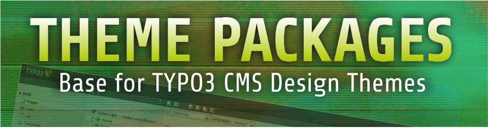 THEME Packages - Basis für TYPO3 CMS Design-Themes