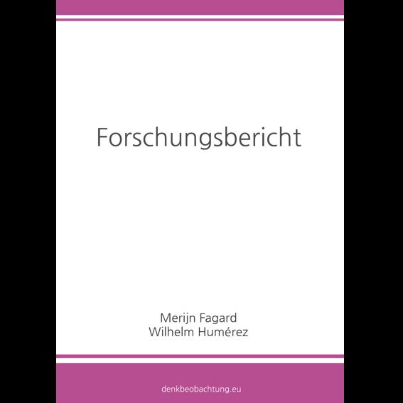 Forschungsbericht als Buch in Softcover