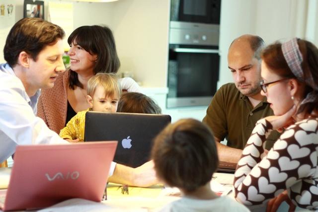 Coworking Toddler - Arbeiten und Kind