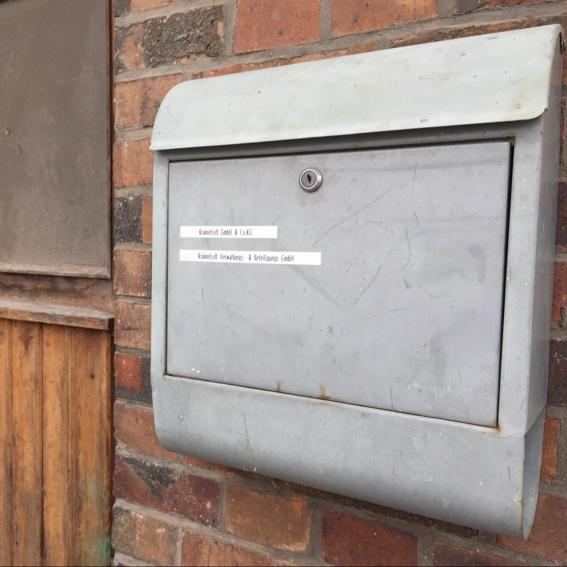 Virtual Office/ Postadresse bei uns