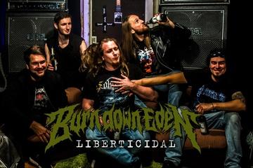 Burn Down Eden - Liberticidal - album production