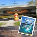 Das Buch und eine exklusive Streetart-Safari
