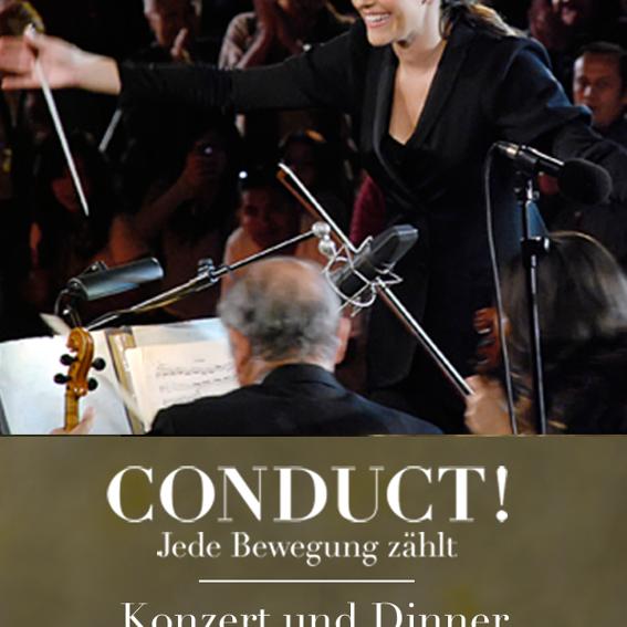 Konzert und Dinner mit den Dirigenten
