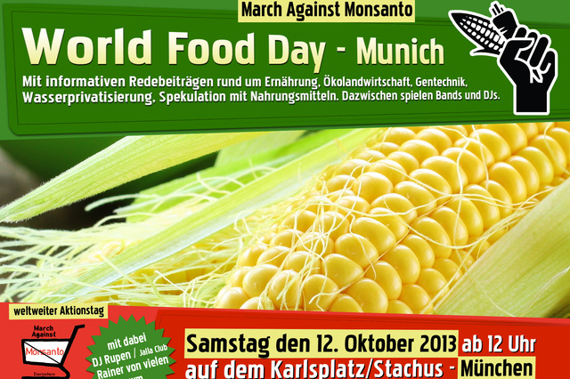 World Food Day - March Against Monsanto