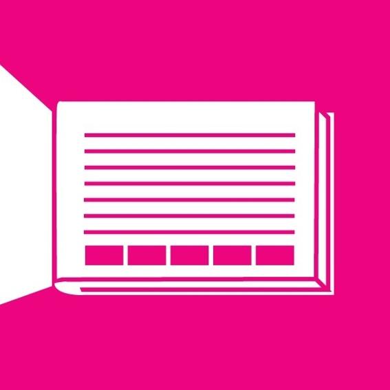 Dein XL Firmenlogo im ICOON for refugees Buch