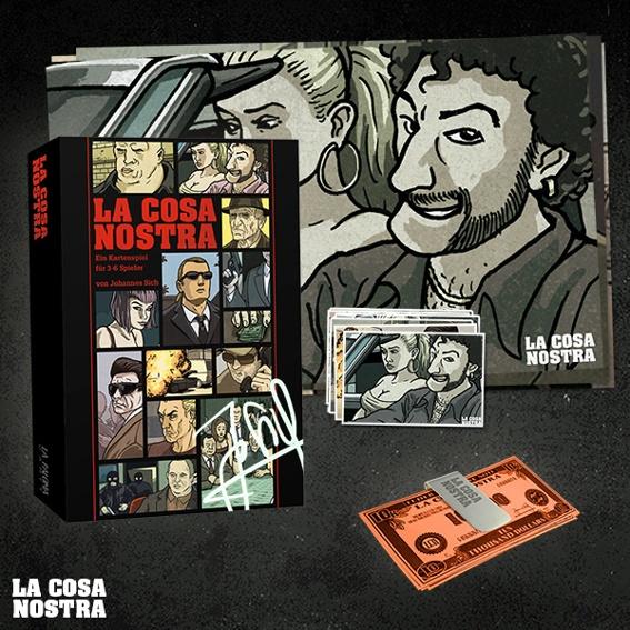 Supporter Premium-Version: Das Spiel, signiert! + Poster-Set